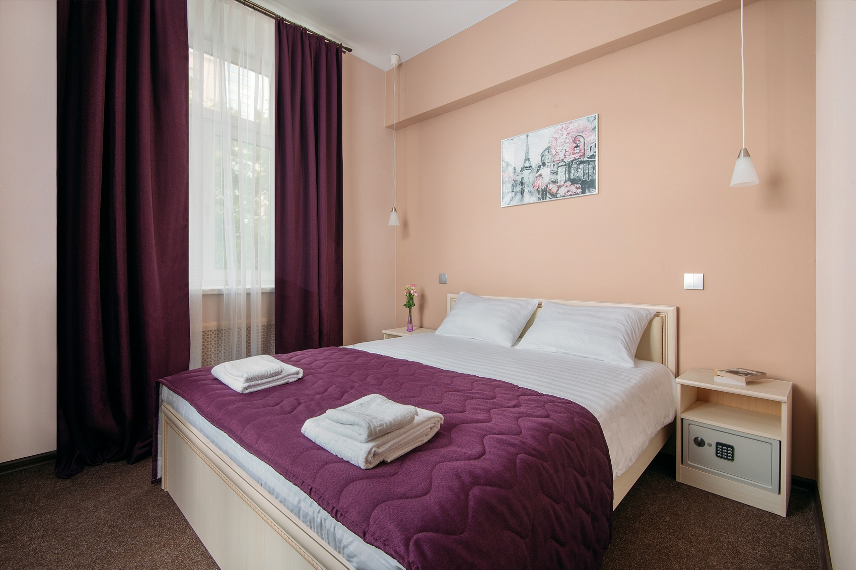 Double deluxe with 1 bed
